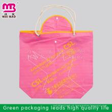80 gsm ou cutomized mais barato alibaba China personalizado fazer saco de compras não tecido