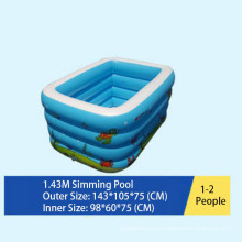 Milti Size Inflatable Swimming Pool with Bubble Bottom