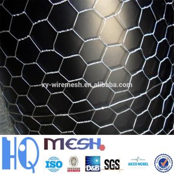 Sechseckiges Mesh / galvanisiertes sechseckiges Maschendrahtgewebe / pvc-beschichtetes Sechskant-Maschendraht