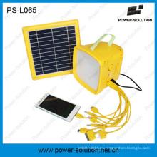 2015 venta caliente de alta potencia LED Radio linterna Solar para África