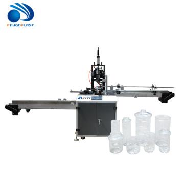 Máquina de corte de pescoço de garrafa de plástico automática pet