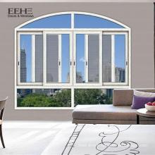 Fenêtre en verre coulissante de cadre en aluminium de bureau