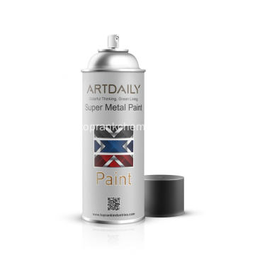Super Metal tinta Spray dourada