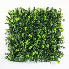 Материал PE зеленый искусственный самшита хедж коврик для дома сад