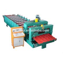 Machine à former des rouleaux de tuiles glacés usés personnalisés