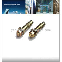 Elevator spare parts of elevator expansion anchor bolts