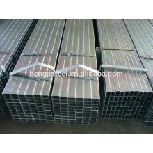 Material de vedação galvanizado tubo de aço quadrado / tubo