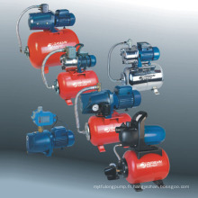Jet pompe avec réservoir sous pression, pompe à jet en acier inoxydable avec CE