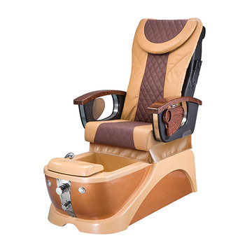 Fauteuil Spa Pedicure Marron