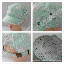 (LM15008) Wholesale Military Army Cap for Lady