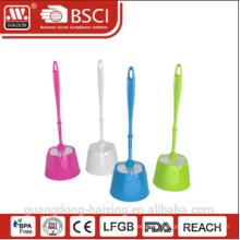 Brosse de toilette en plastique de qualité de haute Haixing avec support avec BASE