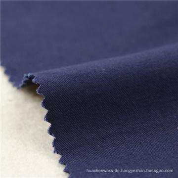 21x21 + 70D / 140x74 264gsm 144cm tiefes Meer blaues doppeltes Baumwollausdehnungs-Köper 2 / 2S nähender Gewebe speichert Damekleidgewebe