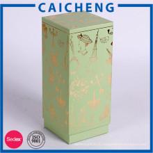 Косметическая бумажная коробка дух упаковывая картонная коробка подарочный набор