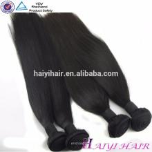 Venda al por mayor la armadura original natural sin procesar del pelo humano de la Virgen del pelo 100 del visón brasileño