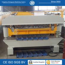 Machine de formation de métal à double couche