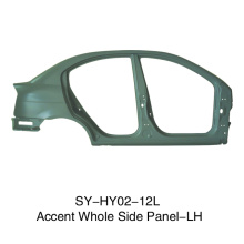 Whole Side Panel-LH For Hyundai Accent
