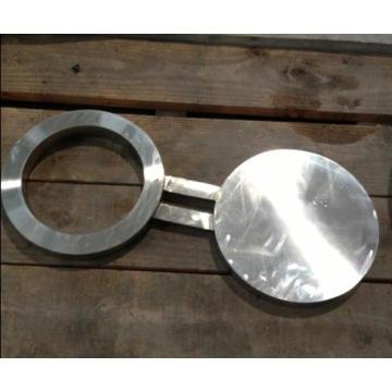 Espetáculo Flange cego, Figura 8 Flange, aço inoxidável Espetáculo Flange cego,