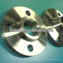 BS4504 PN16 carbon steel welded neck threaded flange