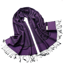 Best Selling Paisley Scarf Female Jaquard Stole Long Hijab Wrap Ladies Tippet