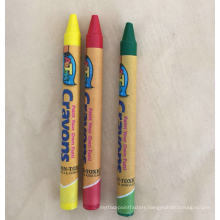 China supplier 0.8cm*L 8.8cm non toxic wax crayon