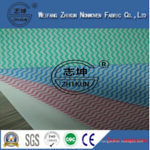 Non-toxic and Anti-bacterial Spunlace Non-woven Fabric for Family Kitchen Cleaning Wipes