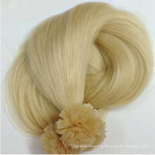 Prebonded Hair Double Drawn Italy Keratin Flat tip hair extension for reseller