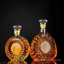 Lead-Free Louis Xiii Wine Glass Bottle, Transparent Wine Glass Bottle