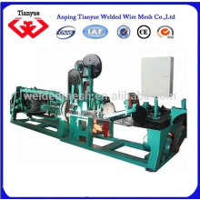 Máquina de arame farpado galvanizado
