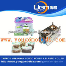 2013 New household plastic battery container mould and good price injection tool box mould