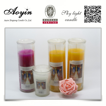 Custom Fragrance Church Użyj Glass Jar Candle
