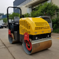 Ride On Double Drum Vibratory Road Roller Compactor