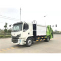 Dongfeng single bridge 14cbm compression garbage truck