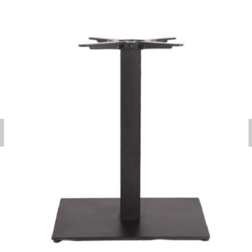Square Top Composite Material Table Base for Restaurant