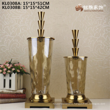 Wedding favor curio shelve decoration glass vase flower holder