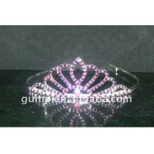 rhinestone crystal wedding tiaras