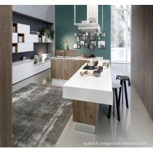 Cabinet de cuisine en MDF de peinture à la laque 2017