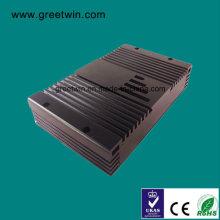 23dBm Lte700 PCS1900 Repetidor doble de la señal del aumentador de presión de la venda (GW-23LP)