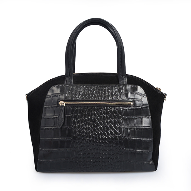 Fashion women ladies tote Brand Crocodile pattern