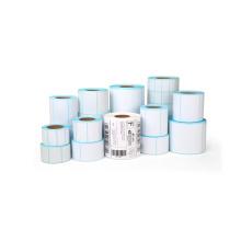 OEM Blank Direct Thermal Selbstklebende Etikettenrolle