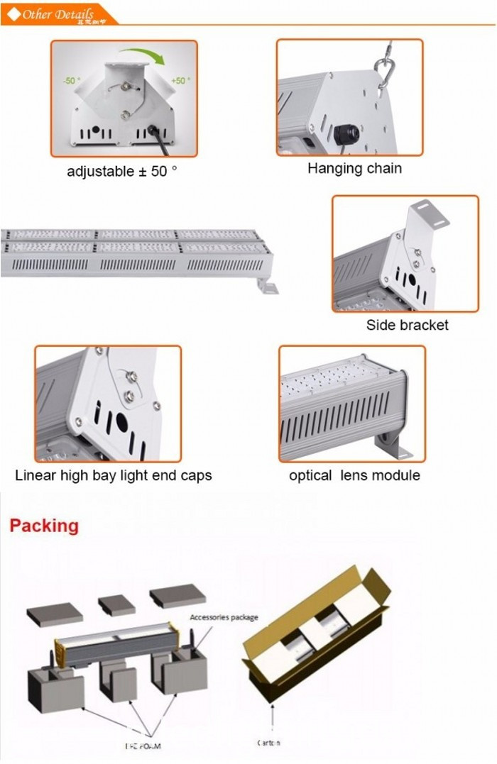 150W LED Linear Bay Light