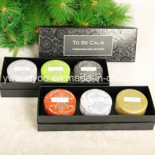 Christmas Gift Tin Candle Set