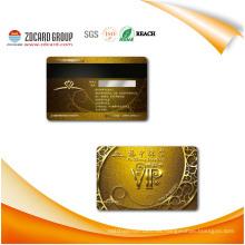Cmyk que imprime la tarjeta plástica del PVC con ilustraciones modificadas para requisitos particulares