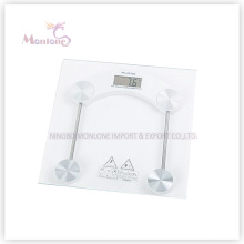 2.5kg-150kg Glasquadrat Elektronische Waage (30 * 30)