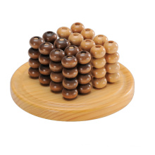 Wooden Abacus Counting Game and Chess Board (CB1002)