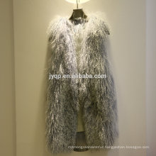 Wholesale Tibet Lamb Sheepskin Fur Soft Hair Fur Vest