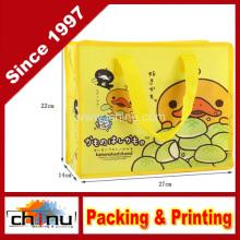 Promoção embalagem de compras não tecidos saco (920058)