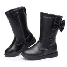 Chaussures à chaussures en caoutchouc en cuir véritable en cuir véritable