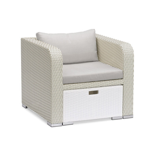 Classic Style Garden Line Rattan Soffa Lounge Set