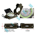 2018 New Arrival Mini Pocket Professional Magnetic Geology Military Army Compass for Outdoor Sports Camping Hiking