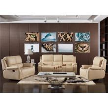 Canapé de salon avec canapé moderne en cuir véritable (768)